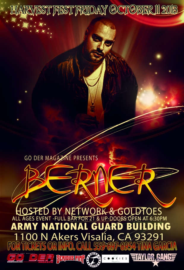 BERNER 2ND EDITION  HARVEST FEST.