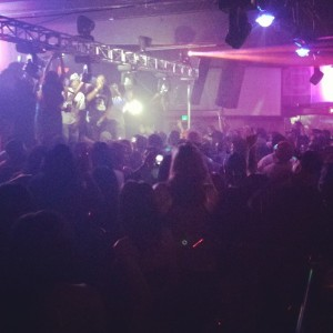 a 1500 plus crowd gathered at the fiesta night club to celebrate mac dre day .